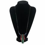 collier long et pendentif long en bois (5)
