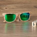 Lunettes en bois, polarisées Uv400 (5)