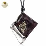 Collier long et pendentif gothique (3)
