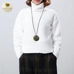 Collier long et pendentif bois et metal tourbillon (5)