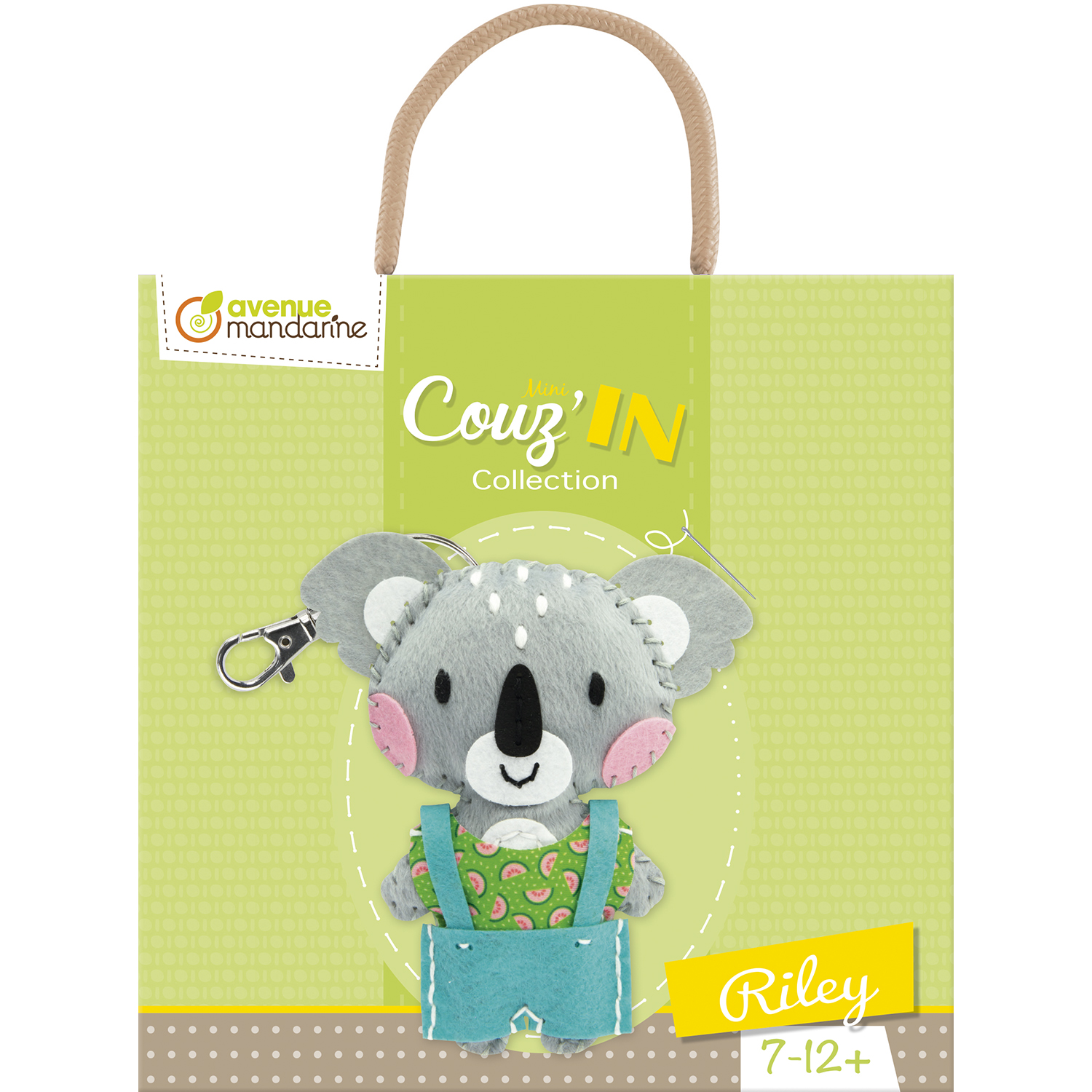 Kit feutrine Mini Couz\'In - Riley le Koala - 7/12 ans