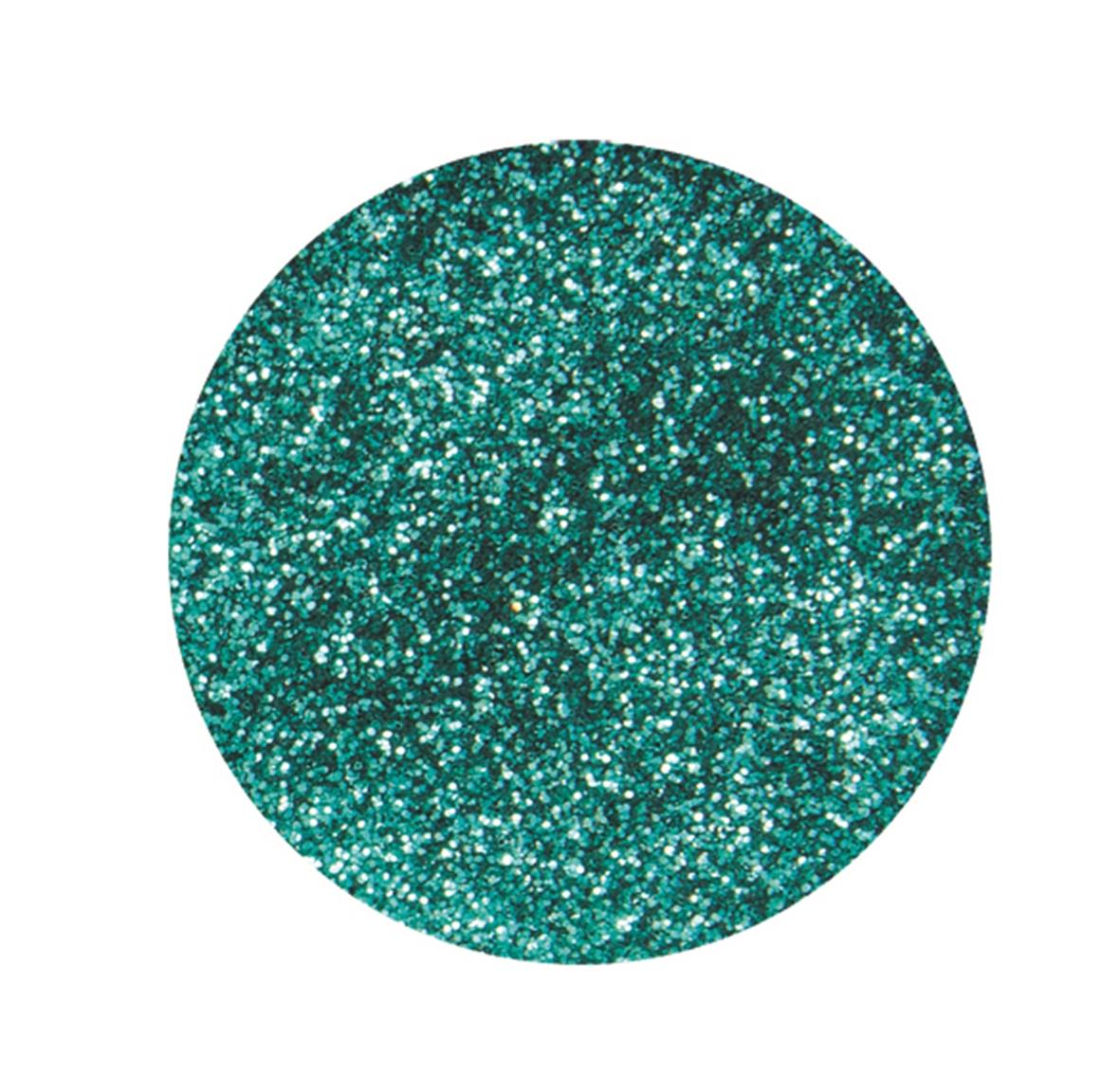 Boîte de 10 g de paillettes ultrafines - Coloris turquoise