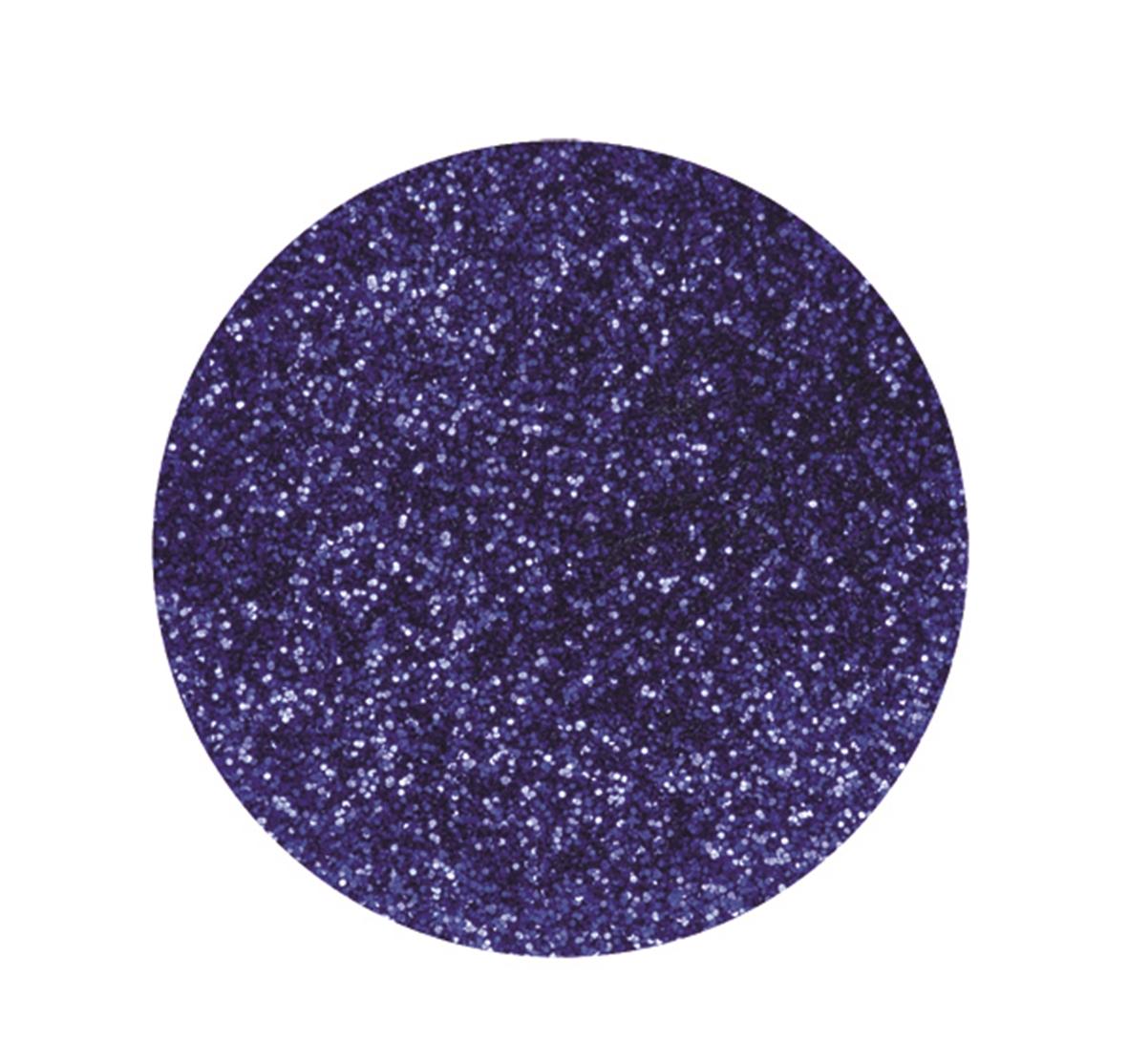 Boîte de 10 g de paillettes ultrafines - Coloris bleu marine