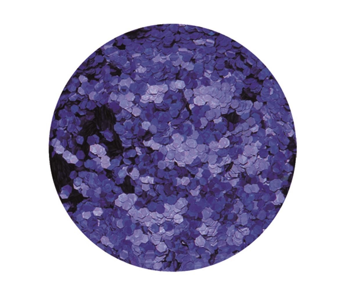 Boîte de 9 g de paillettes d\'environ 1 mm de diamètre - Coloris bleu marine
