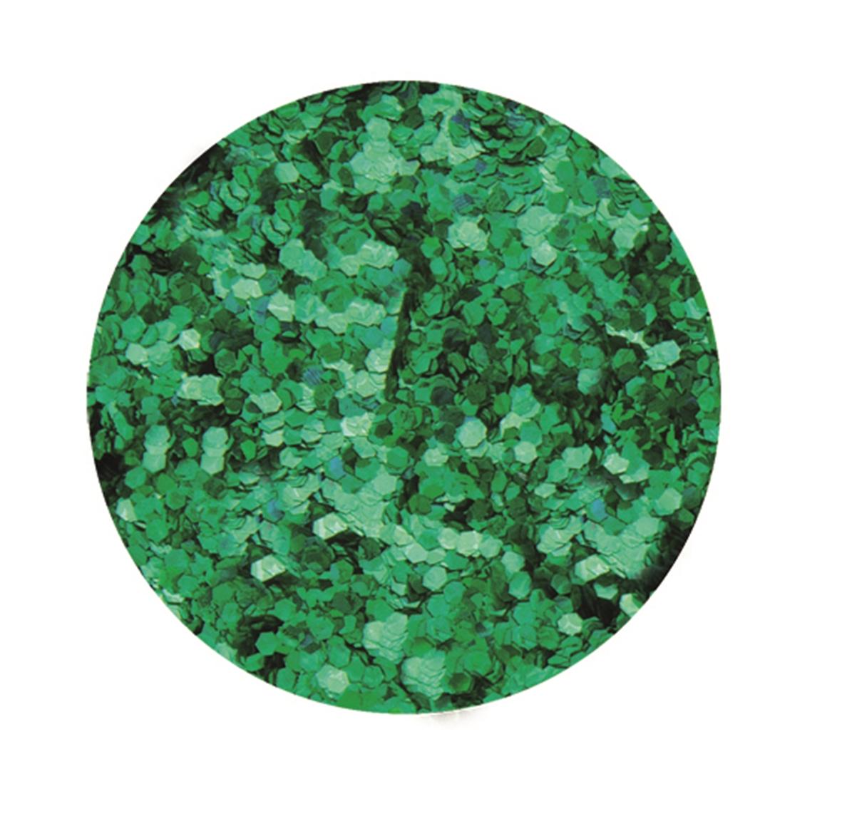 Boîte de 9 g de paillettes d\'environ 1 mm de diamètre - Coloris vert