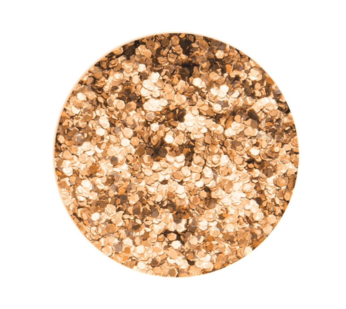 Boîte de 9 g de paillettes d\'environ 1 mm de diamètre - Coloris or