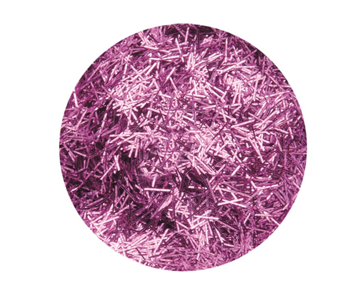 Boîte de 4.5 g de paillettes cheveux d\'ange - Coloris rose