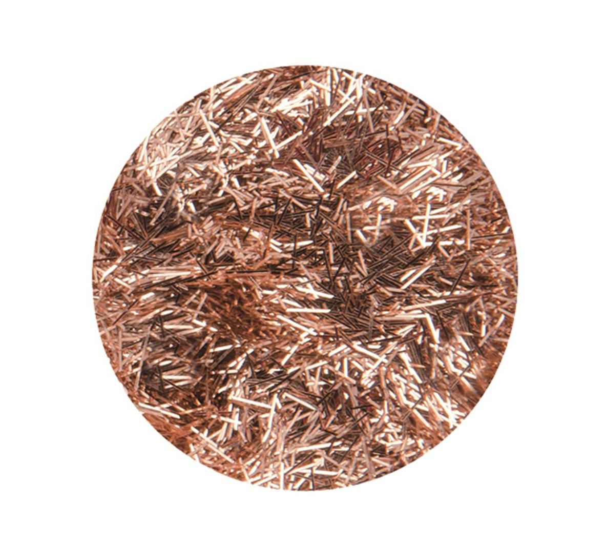 Boîte de 4.5 g de paillettes cheveux d\'ange - Coloris cuivre