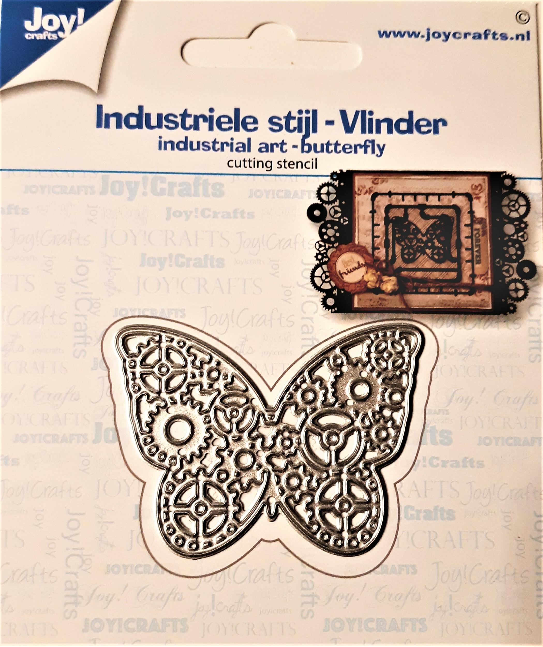 Matrice de découpe Papillon engrenages