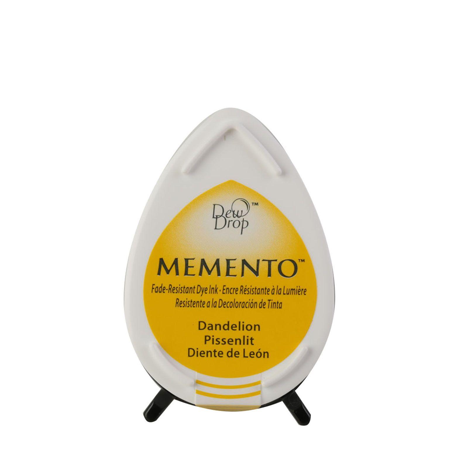 Memento Dew Drops - Tampon encreur - Coloris Pissenlit