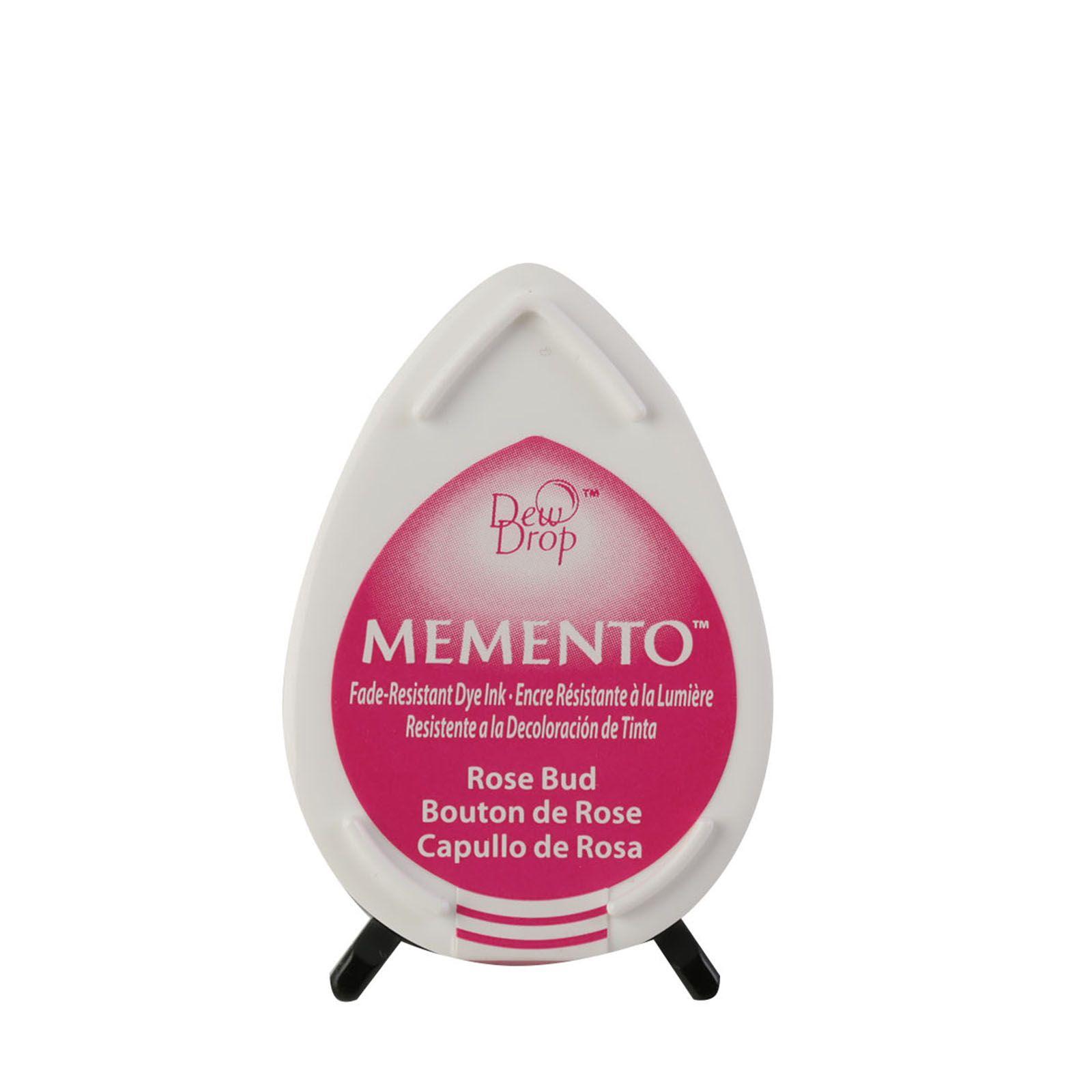 Memento Dew Drops - Tampon encreur - Coloris Bouton de rose