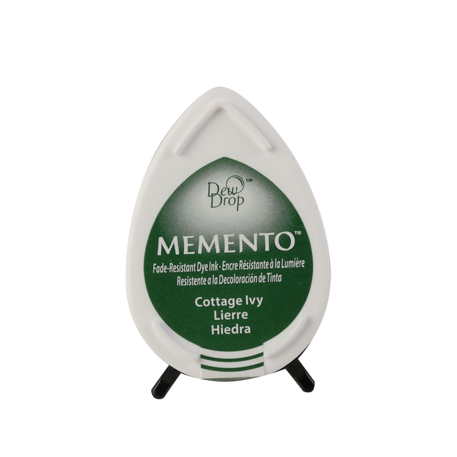 Memento Dew Drops - Tampon encreur - Coloris Lierre