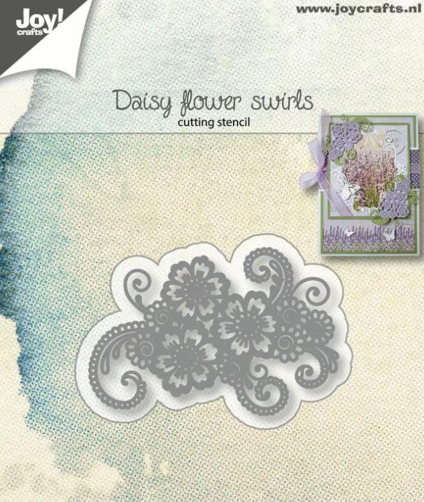 Matrice de découpe Daisy Flower Swirls