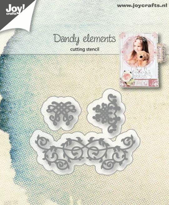 Matrices de découpe  Dandy Elements