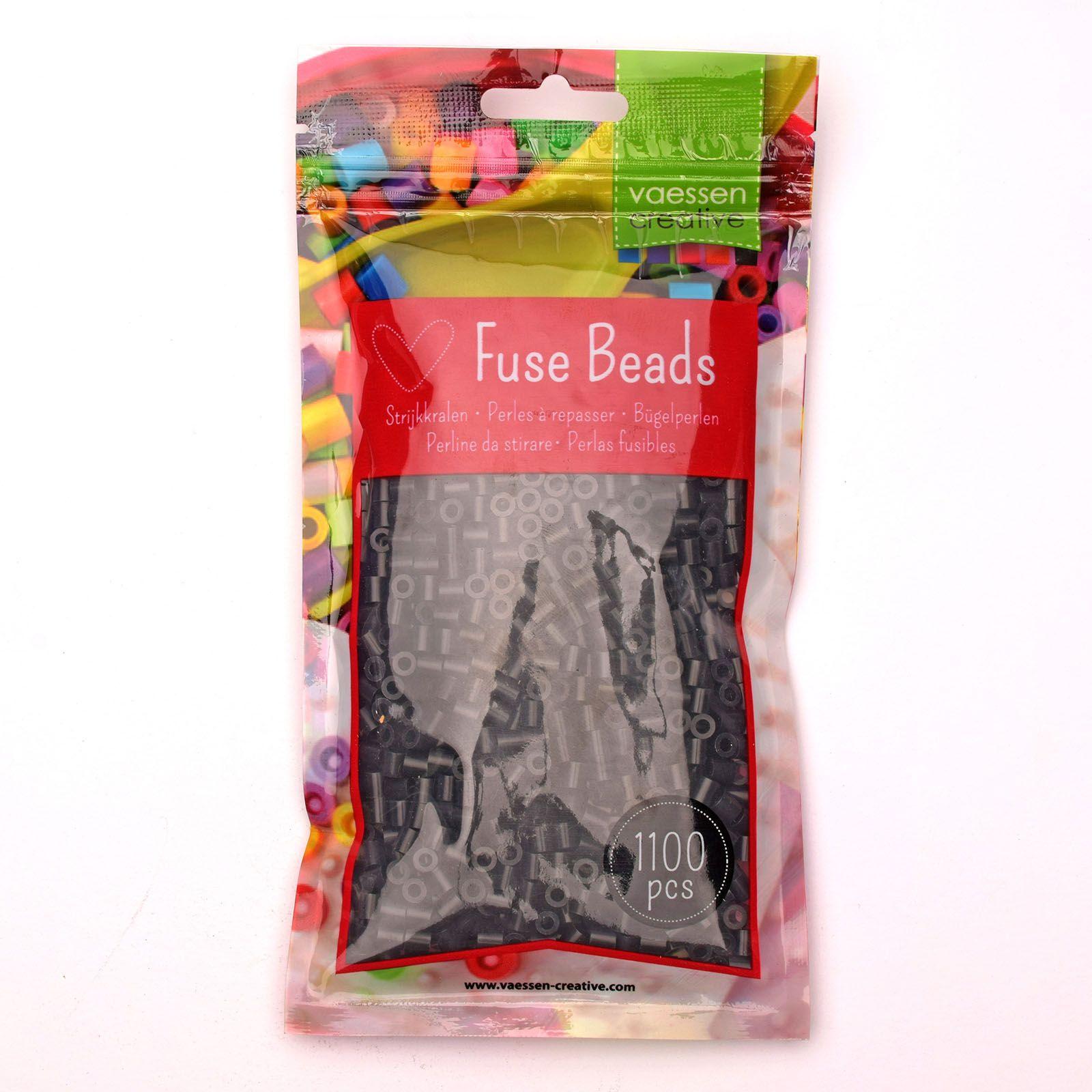 Sachet de 1100 perles à repasser - Ø 5 mm Coloris noir