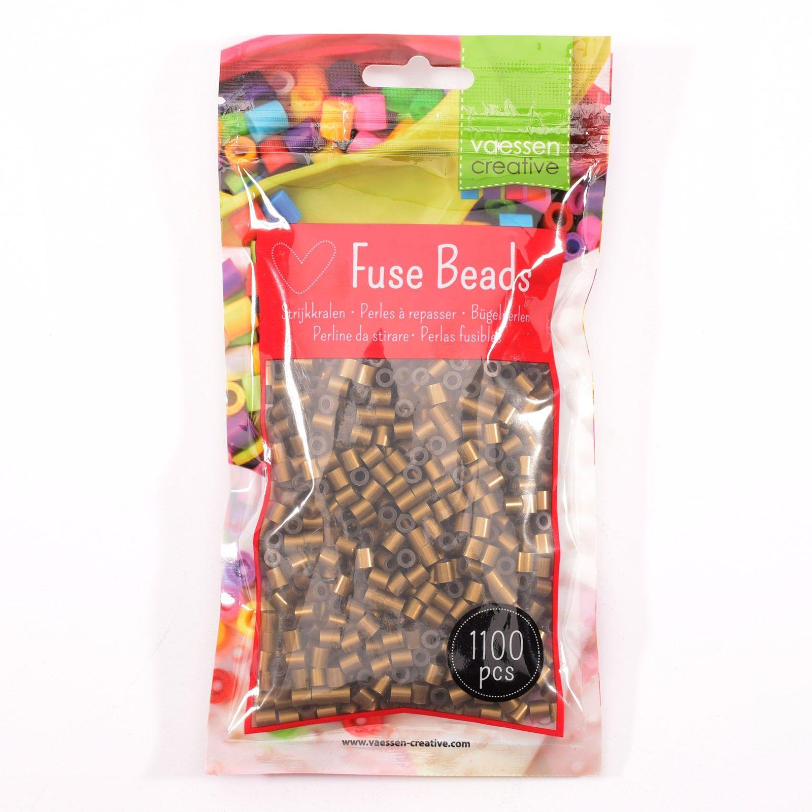 Sachet de 1100 perles à repasser - Ø 5 mm Coloris or