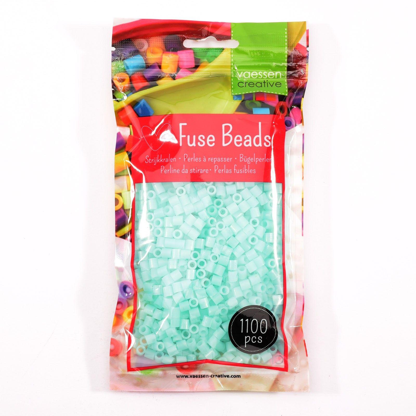 Sachet de 1100 perles à repasser - Ø 5 mm Coloris Bleu Fluorescent