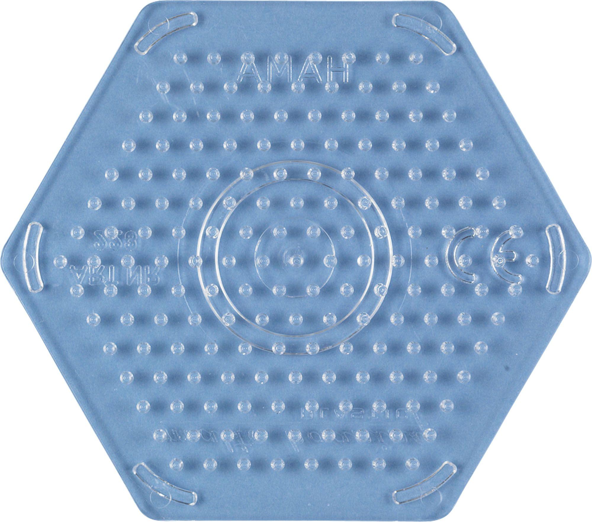 Base pour perles à repasser - Petit hexagone