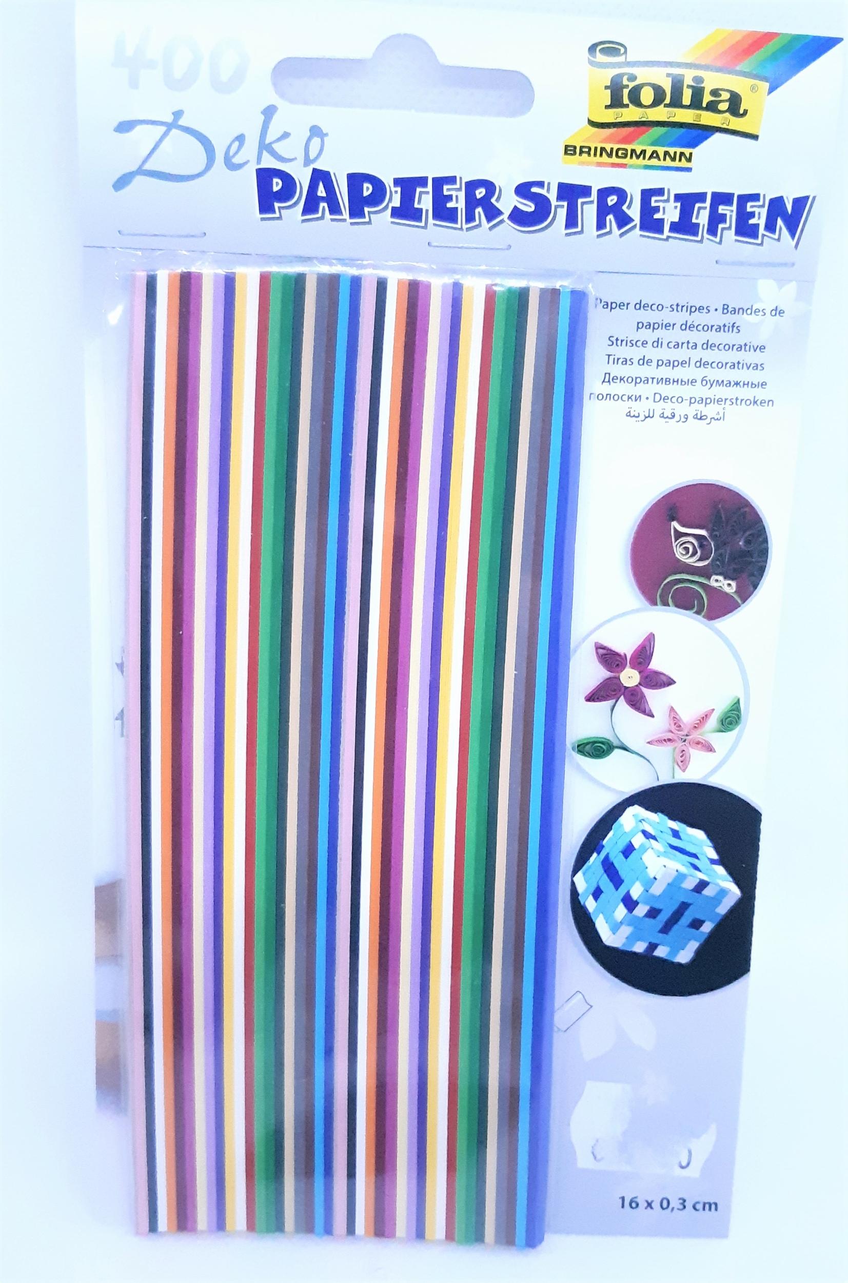 Bandelettes de papier 130 g/m2 pour quilling