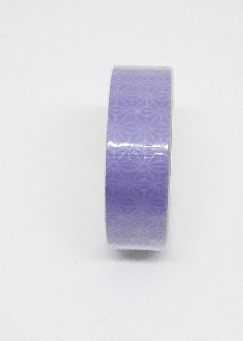 Adhésif de masquage en papier de riz - Motif lilas