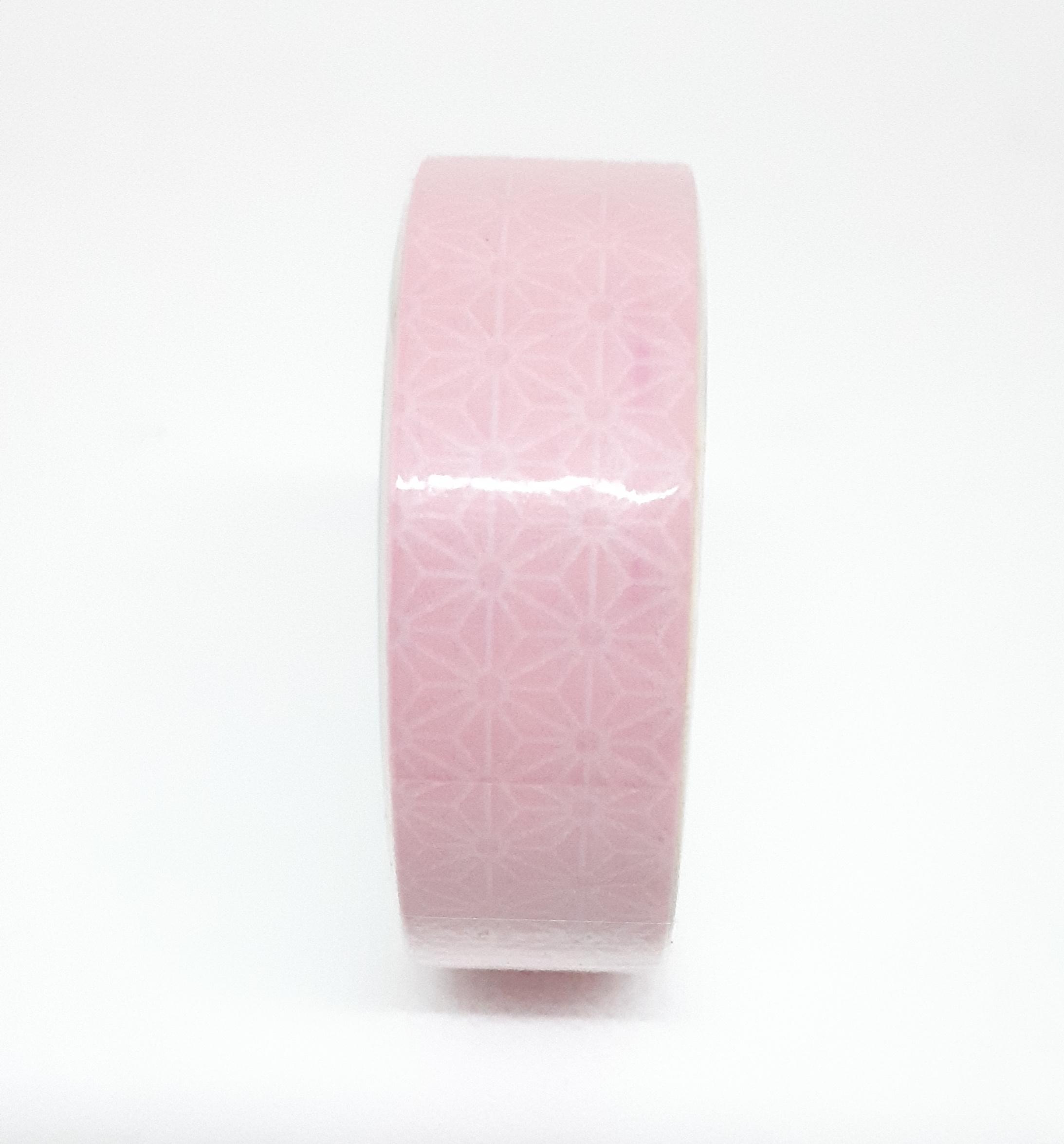 Adhésif de masquage en papier de riz - Motif rose