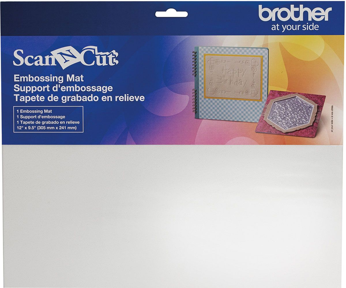 Tapis pour embossage - Scan N\'Cut Brother