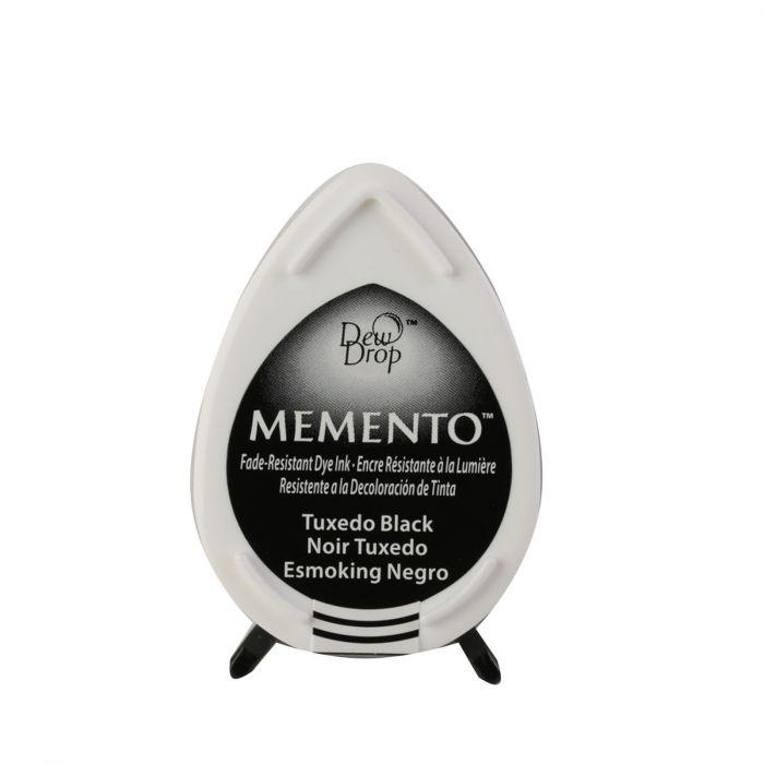 Memento Dew Drops - Tampon encreur - Coloris Tuxedo Black