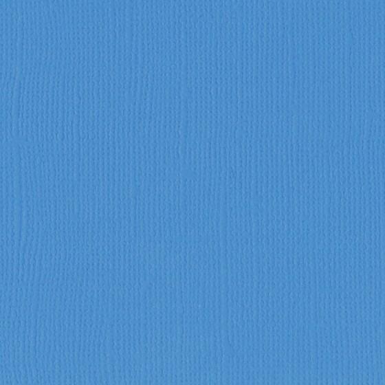 Papier texturé 30.5 x 30.5 cms - 216 g/m2 - DENIM