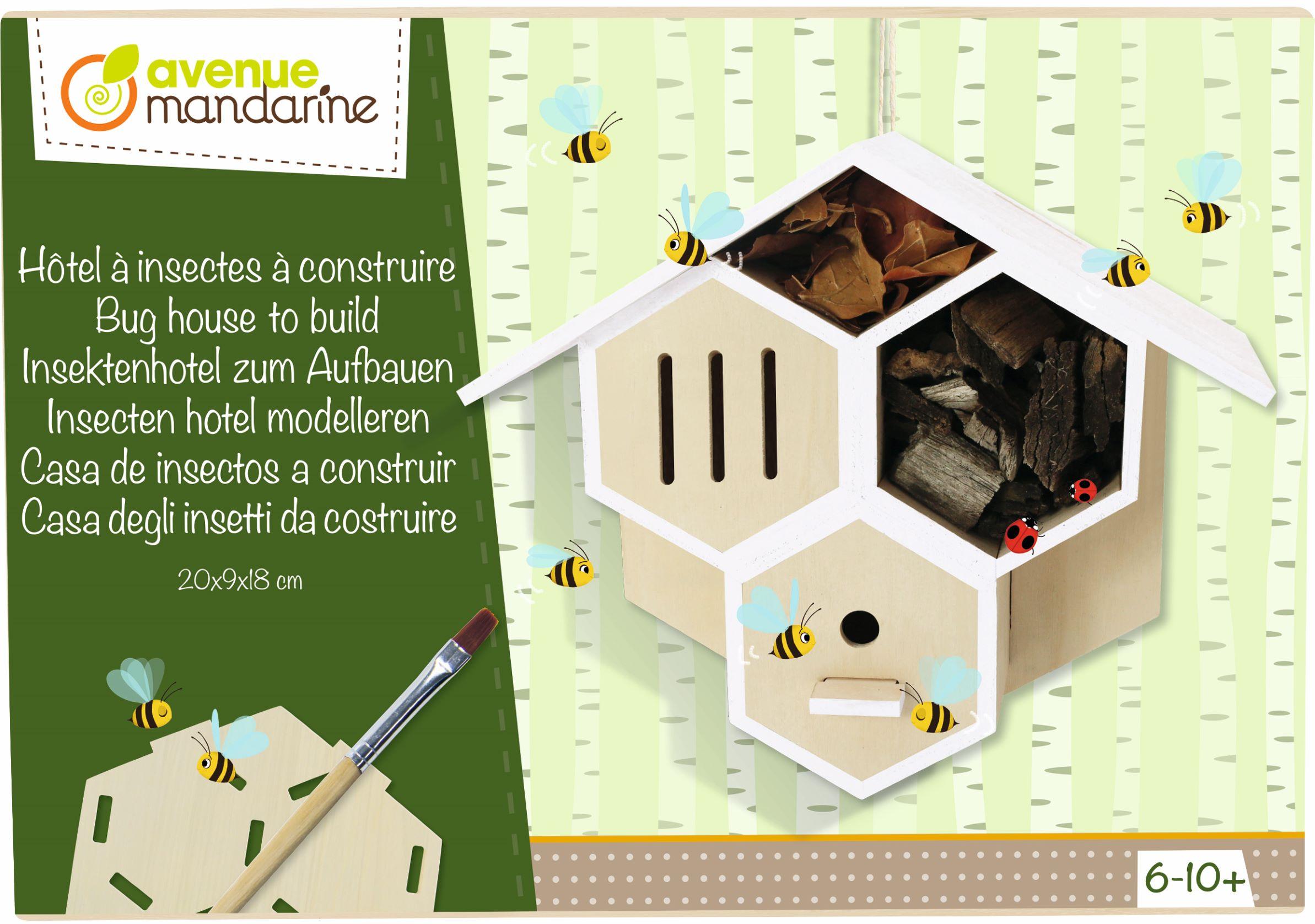 Kit Hôtel à insecte à construire