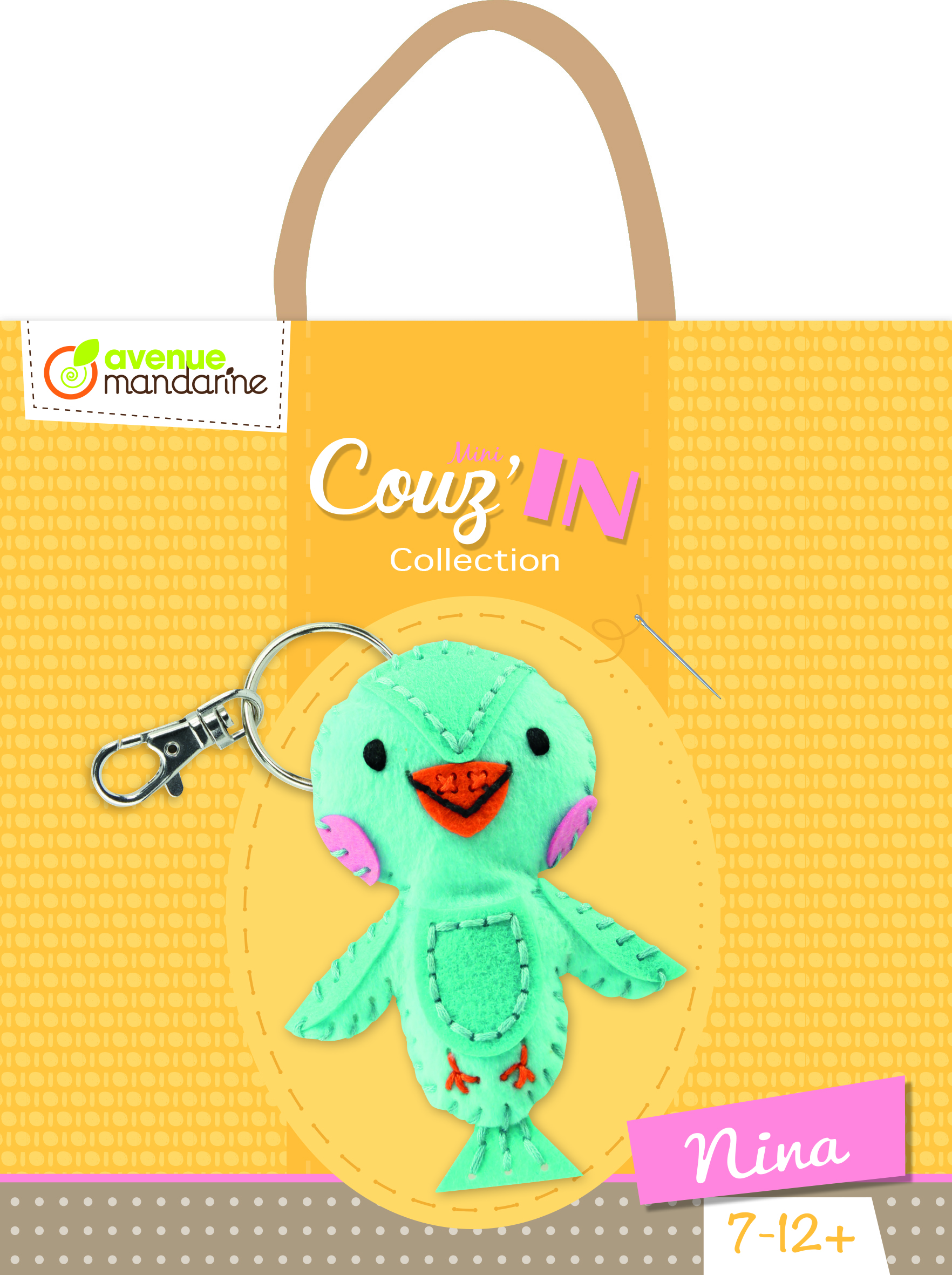 Kit feutrine Mini Couz\'In - Nina