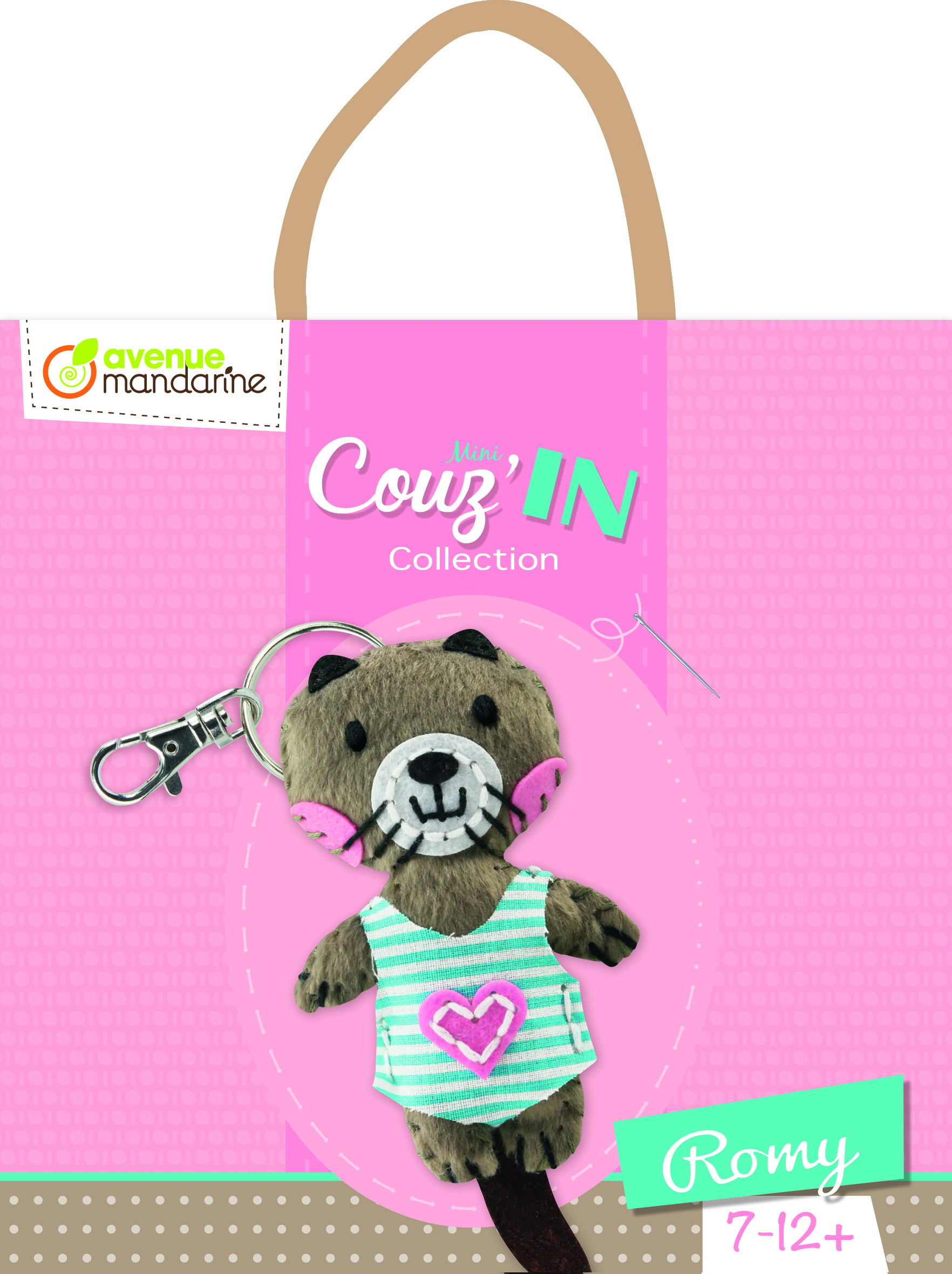 Kit feutrine Mini Couz\'In - Romy