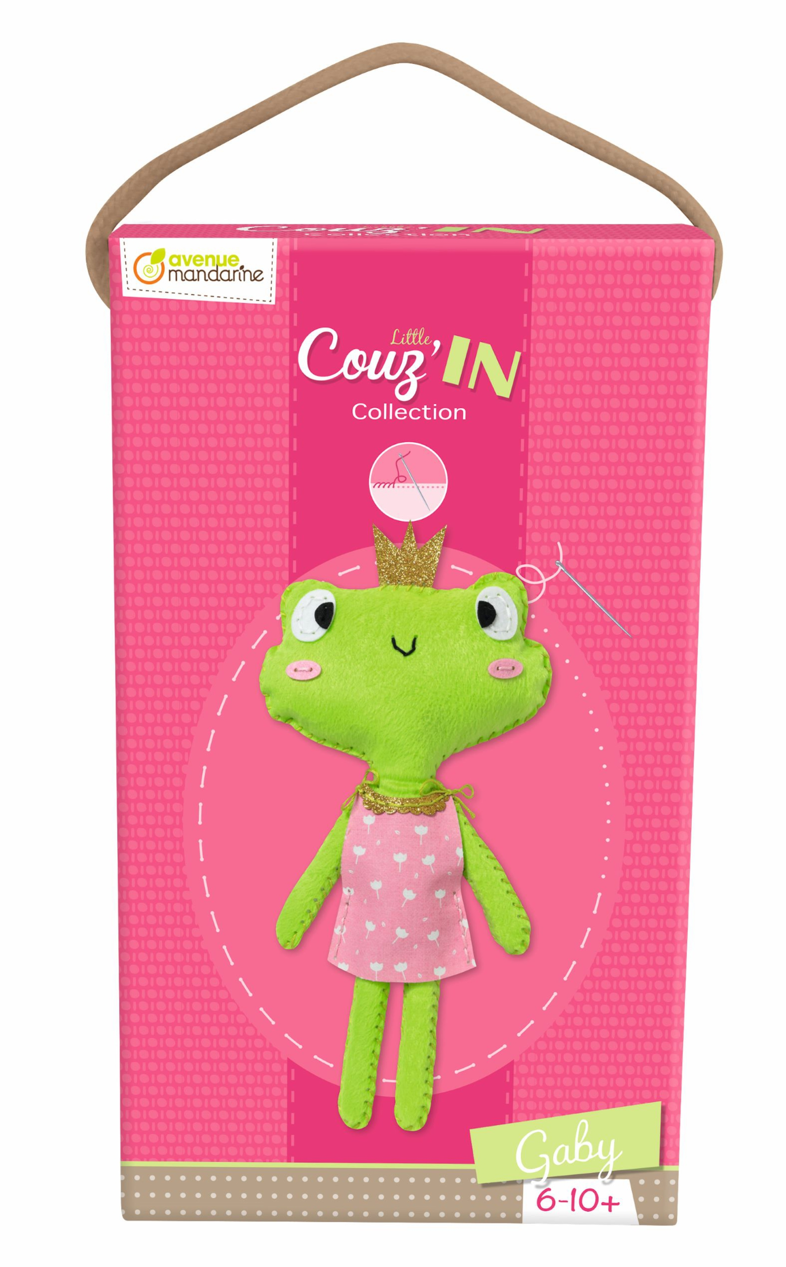 Kit feutrine Little Couz\'In - Gaby la Grenouille