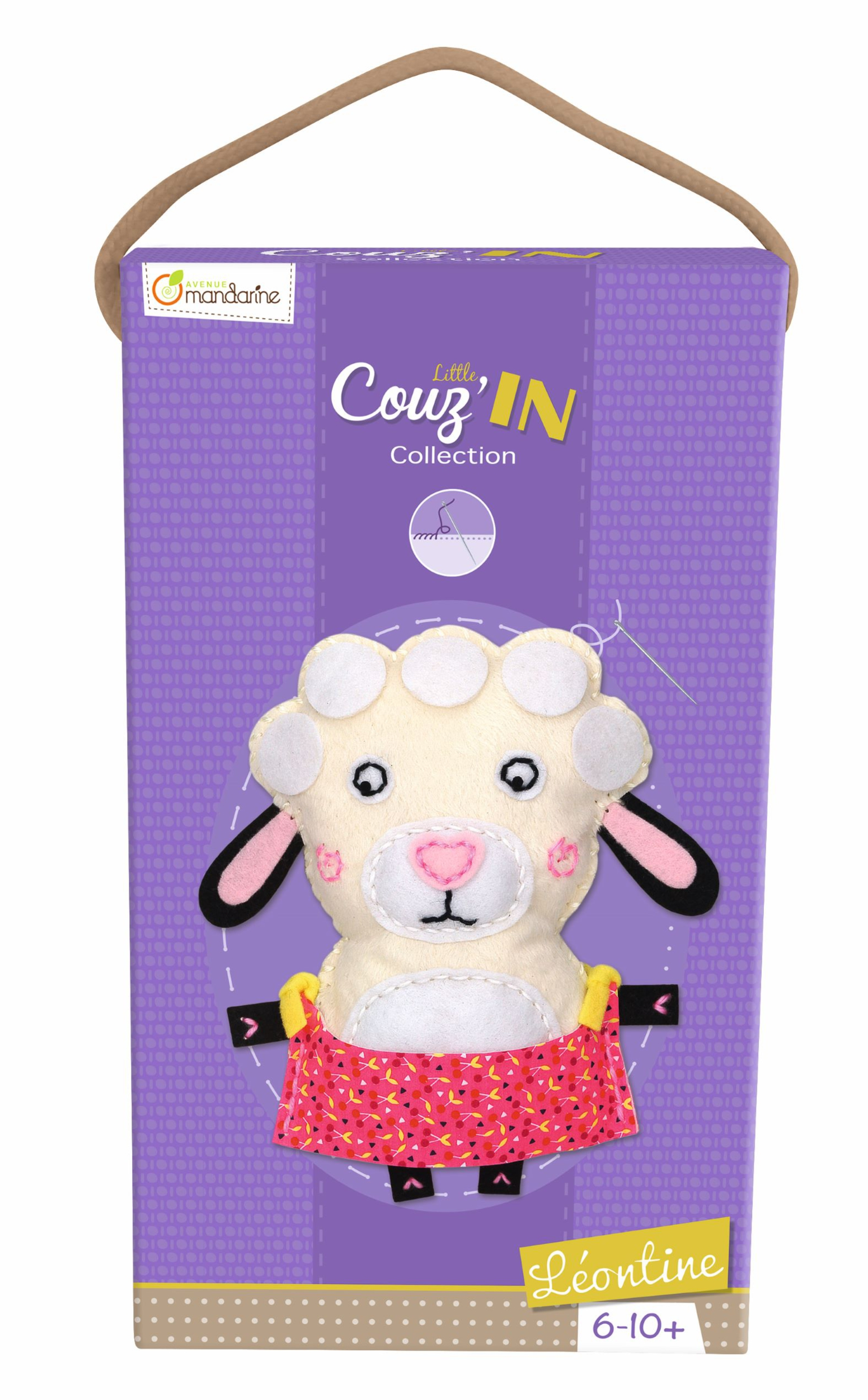 Kit feutrine Little Couz\'In - Léontine le Mouton