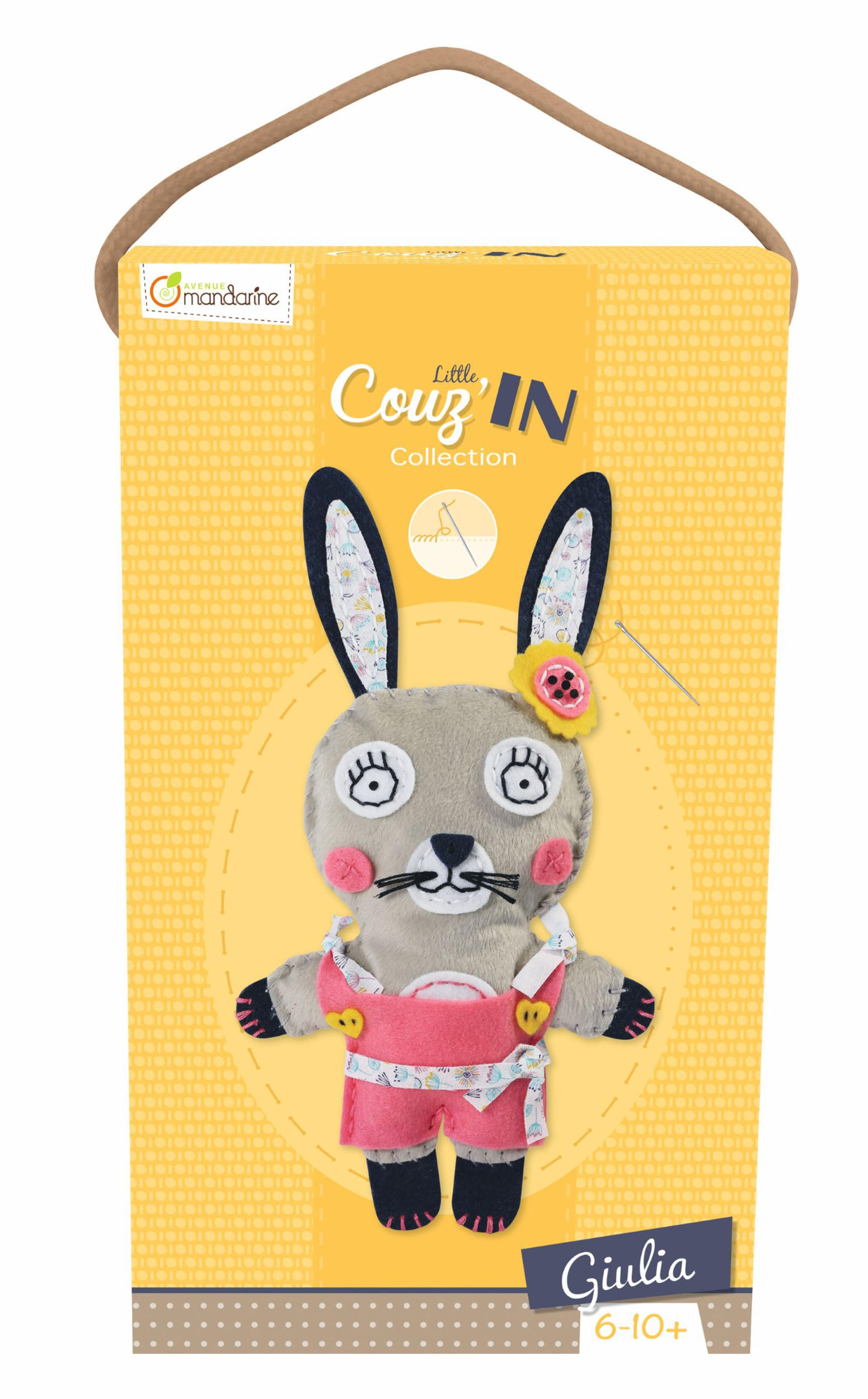 Kit feutrine Little Couz\'In - Giulia le Lapin