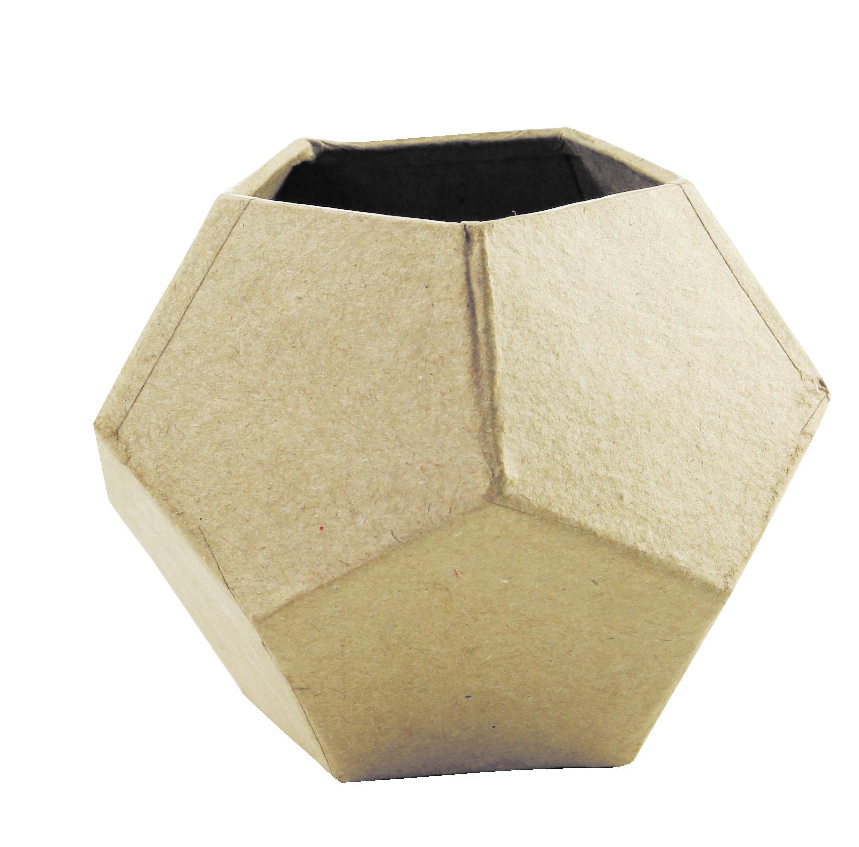 Pot géométrique - support à décorer