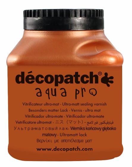 Vernis vitrificateur Mat N°3 - 180 ml