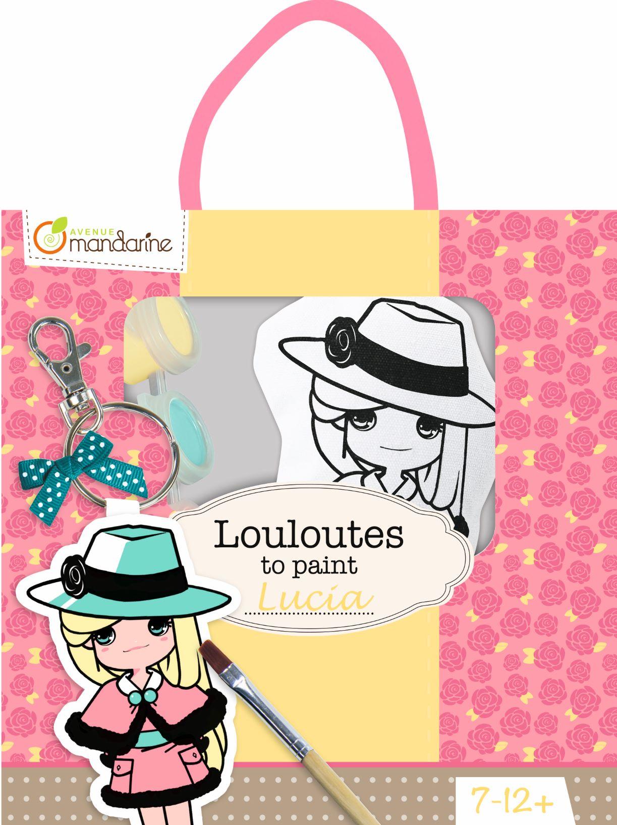 Les Louloutes à peindre - Lucia - A partir de 7 ans