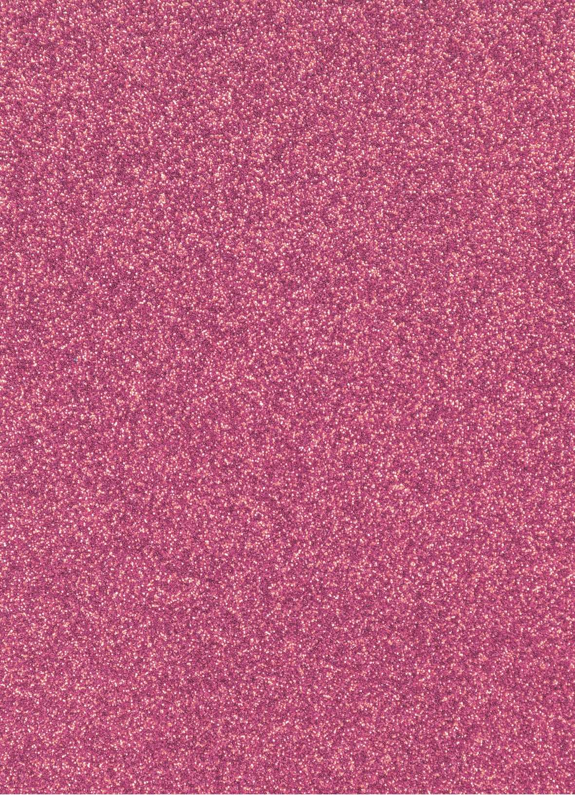 Planche de papier cartonné pailleté - 280g/cm2 - 20 x 30 cms - Rose