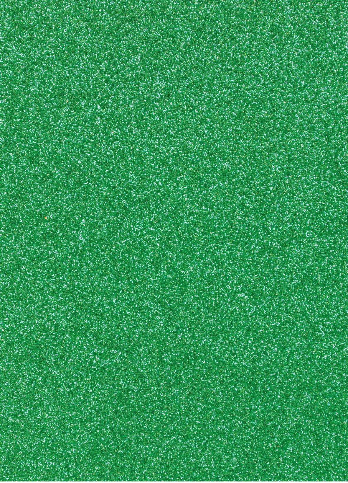 Planche de papier cartonné pailleté - 280g/cm2 - 20 x 30 cms - Vert foncé