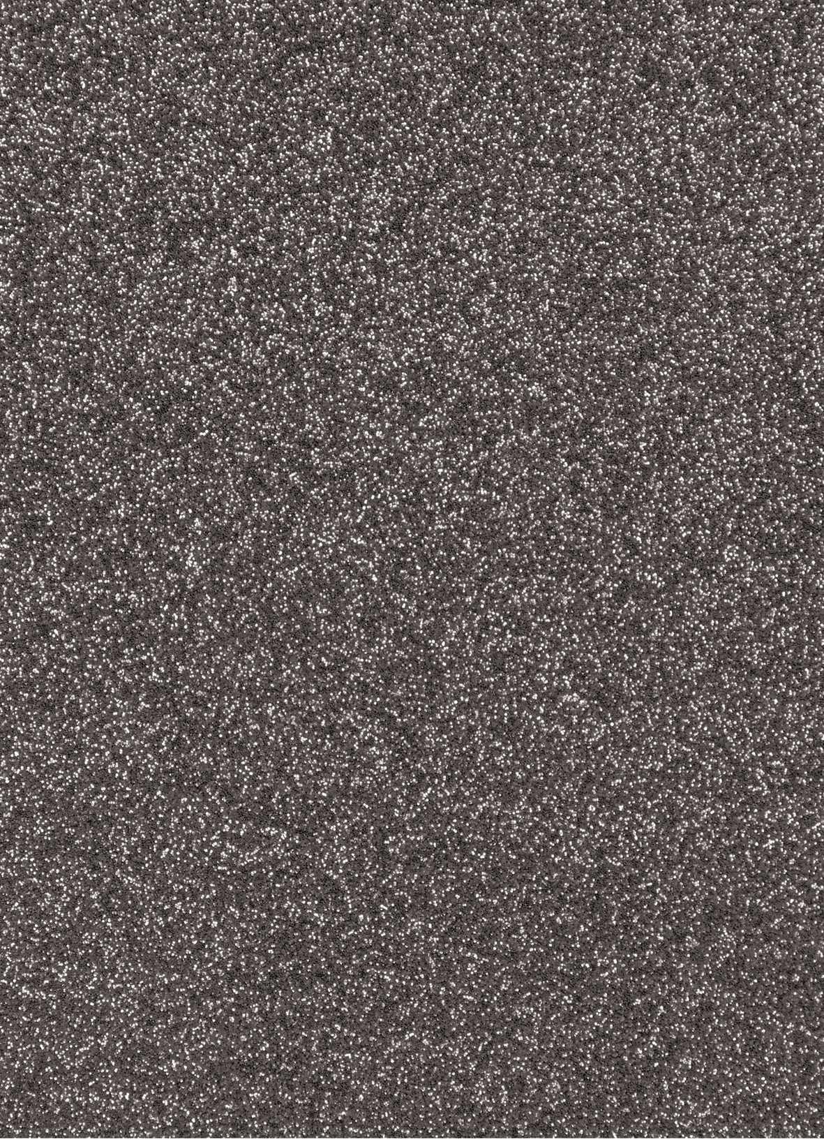 Planche de papier cartonné pailleté - 280g/cm2 - 20 x 30 cms - Noir