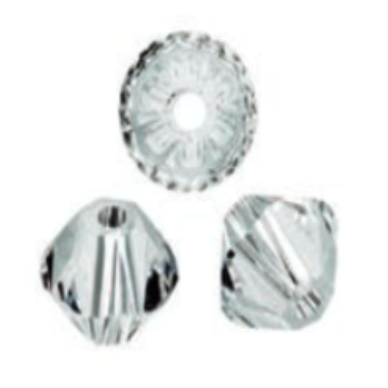 Perles Swarovski 4 mm cristal - Boîte de 25