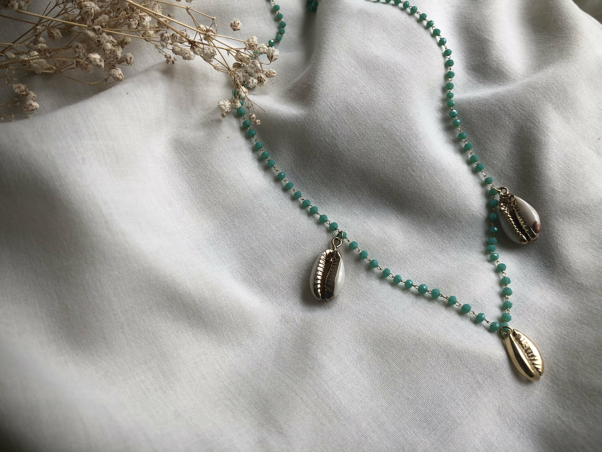 Collier Hina turquoise