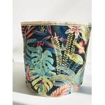 DIY cache pot tropical marine