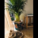Panier artisanale déco floral