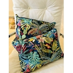 coussin tropical marine DIY rectangle contemporain