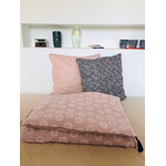 grand coussin rose