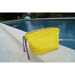 DSC pochette éponge jaune accessoire