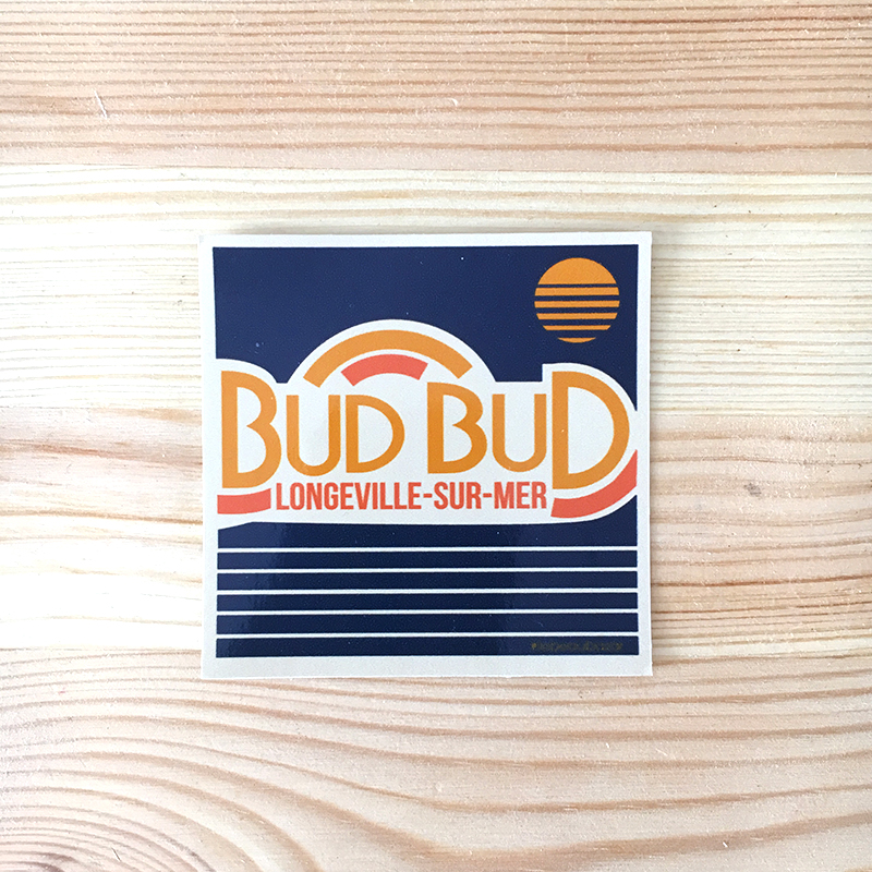 STICKER - Bud Bud sunset