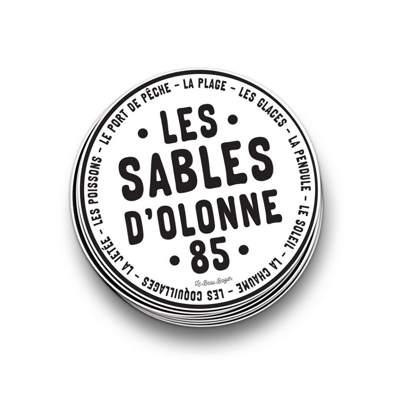STICKER - Les Sables d\'Olonne 85