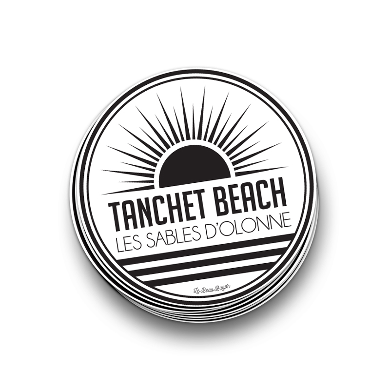 STICKER - Tanchet Beach